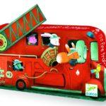 Le camion de pompier – 16 pcs