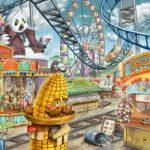 Escape puzzle Kids – Le parc d'attractions