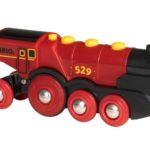 Locomotive Rouge Puissante à piles – 33592