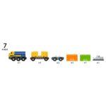 Long Train de Marchandises  – 33982