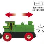 Locomotive verte à pile bi directionnelle – 33595