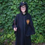 Magicien noir Harry (manteau et lunettes), taille US 7-8
