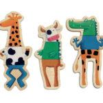 Crazy animaux Magnétiques bois