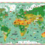Tour du monde 200pcs + livret – FSC MIX