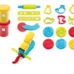 4 pots + 21 outils pâte à modeler