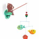 Ours à la pêche