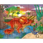 Puzzles Dinosaures