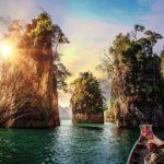 Puzzle 1000 p – Lac de Cheow Lan, Thaïlande