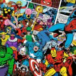 Puzzle 1000 p – Marvel (Challenge Puzzle)