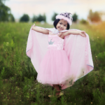 Robe – Pretty in Pink, taille US 3-4