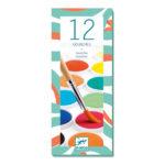 12 pastilles gouaches – classique