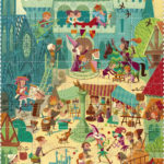 Puzzle – Go to the medieval Times100 pcs