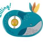 Hochet bois baleine Le voyage d'Olga