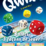 Qwixx recharge (2 blocs de scores = 160 fiches)