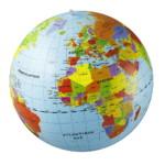 Pays et villes du monde 42 cm – Globe Terrestre Gonflable – Jeu Educatif